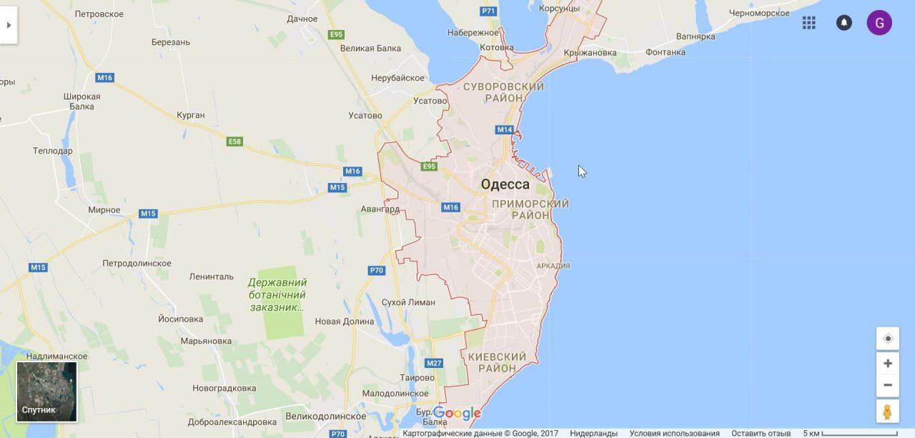 Лучший район Одессы